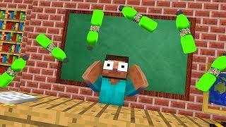 Download Monster School : Epic BOTTLE FLIP Challenge - Minecraft Animation Video