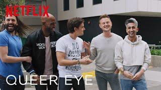 Download Queer Eye   Netflix NERDS Makeover   Netflix Video