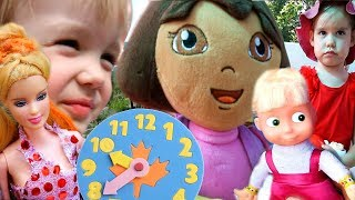 Download Даша Путешественница Соня и Лиза Следопыт 1 СБОРНИК 1 сезон все серии подряд Dora the Explorer Video