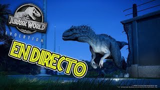 Download JURASSIC WORLD EVOLUTION EN DIRECTO!!! - NUESTRO PROPIO PARQUE JURASICO Video