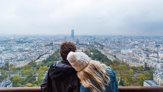 Download THE BEST VIEW OF PARIS IS FROM THE TOP OF THE EIFFEL TOWER Video