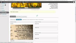 Download Adding a Homepage Slideshow With Easing Slider WordPress Tutorial Video