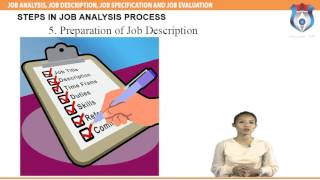 Download JOB ANALYSIS, JOB DESCRIPTION, JOB SPECIFICATION AND JOB EVALUATION Video