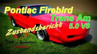 Download Pontiac Firebird Trans Am ″GTA″ orig. 37 tkm I ein Zustandsbericht Video