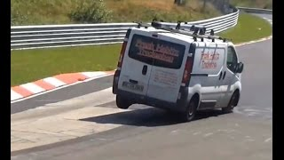 Download Best Jumping Cars on Nordschleife ACTION, 3 Wheel Driving, CRASH, Compilation Video