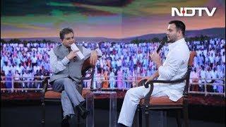 Download #NDTVYuva - My Sources Say Nitish Kumar Is Angling To Flip Again: Tejashwi Yadav Video