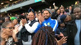Download For the love of football: South Africans react to the FC Barcelona vs Sundowns game Video