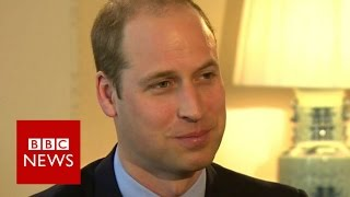 Download Prince William: 'I don't lie awake waiting to be king' BBC News Video