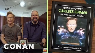 Download Conan O'Brien Plays Atari 2600 Classics: Clueless Gamer | Conan on TBS Video