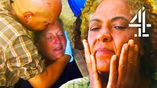 Download Islander Faints From Dangerous Low Blood Sugar & Medics Must Intervene | The Island With Bear Grylls Video