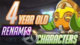 Download 4 Year Old Renames Overwatch Characters [2] (Includes Orisa)(Anniversary Update) Video