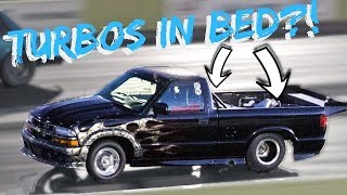 Download Turbo's in the BED - S10 Dominates Small Tire Competition! Video