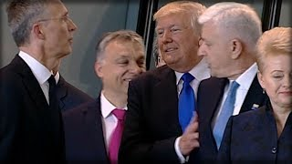 Download EVERYONE FREAKED WHEN THEY SAW WHAT TRUMP DID RIGHT AFTER SHOVING WORLD LEADER AT NATO TODAY Video