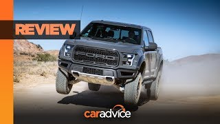 Download 2019 Ford F-150 Raptor REVIEW: Big muscles, big jumps! Video