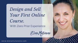 Download Design and Sell your First Online Course Video