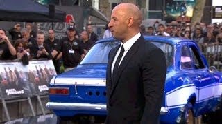 Download Fast & Furious 6 World Premiere Video Video