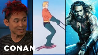 Download How James Wan Is Reinventing Aquaman - CONAN on TBS Video