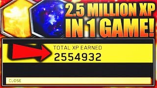Download 2.5 MILLION XP IN ONE MATCH! WORLDS MOST XP IN 1 GAME ON INFINITE WARFARE! UNLOCKING BLACK SKY CAMO! Video