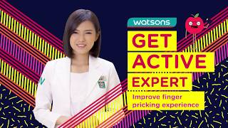 Download Improve Finger Pricking Experience with #GetActiveExpert Video