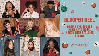Download Blooper Reel: Kate Moss, Megan Thee Stallion & More | Coach New York Holiday Campaign 2019 Video
