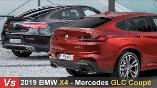 Download 2019 BMW X4 Vs Mercedes GLC Coupe ► Side By Side Comparison Video