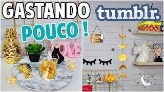 Download DIY: DECORAÇÃO DE QUARTO GASTANDO MUITO POUCO Video