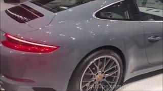 Download Porsche 911 Carrera Graphite Blue Metallic, walkaround Video