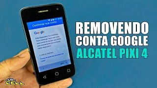 Bypass Google Account Alcatel Pixi 4 4034A, 4034G, 4034X, 4034M with