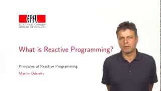 Download Week 1 - What is Reactive Programming Video