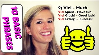 Download GERMAN LESSON 55: 10 Basic German Words EVERY Beginner MUST know! Video