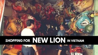 Download SHOPPING LION DANCE COSTUME IN VIETNAM \\ Where they make Lion Dance Equipment & Cost \ VIETNAM VLOG Video