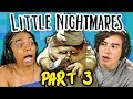 Download EVIL CHEF!! | LITTLE NIGHTMARES - Part 3 (React: Gaming) Video