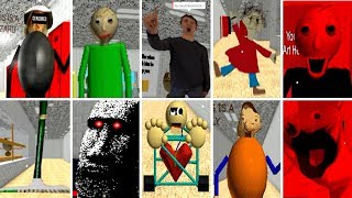 Download ALL CHARACTERS! Baldi's Basics in Education and Learning (BETA) Video