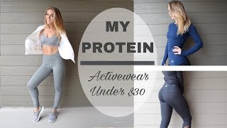 Download The Most Underrated Affordable Activewear // MyProtein Review Video