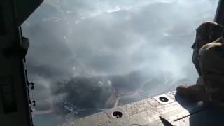 Download Aerial footage shows widespread devastation around Gatlinburg Video