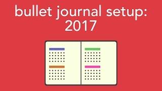 Download 2017 bullet journal setup Video