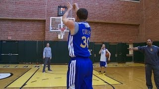 Download Shooting Contest: Curry vs. Coach Jackson Video