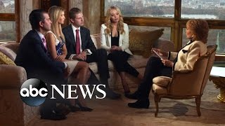 Download Donald Trump's Wife, Children Talk About His Campaign, Home Life Video
