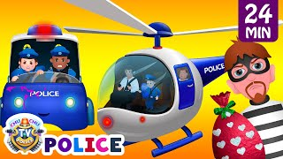 Download ChuChu TV Police Thief Chase - Police Car, Helicopter, Bike | Save Surprise Eggs Kids Toys & Gifts Video