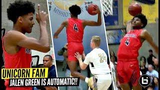 Download UnicornFam Jalen Green Makes It Look EASY!! Got That Thing On Automatic! Video