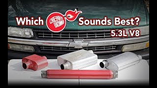 Download Comparing four Cherry Bomb® mufflers on my Chevy Silverado - Sound Test 5.3L V8 Video