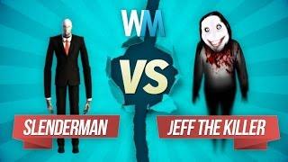 Download Slenderman vs. Jeff the Killer: Creepypasta Battle Video