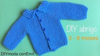 Download Abrigo de bebé a crochet ganchillo paso a paso Video