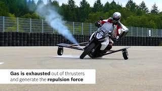 Download Bosch met au point l'anti-dérapage moto Video