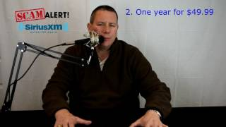 Download SiriusXM radio scam - MUST WATCH Video