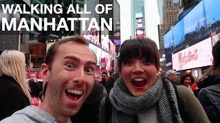 Download Walking ALL OF MANHATTAN in One Day Video
