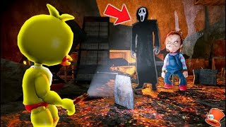 Download FNAF WORLD FOUND CHUCKY AND GHOST GUY HIDING! (GTA 5 Mods For Kids FNAF RedHatter) Video
