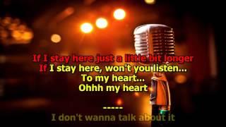Download I Don't Want to Talk About It - (HD Karaoke) Rod Stewart Video