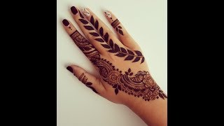 Download Simple Henna Design For Eid #2 (Traditional With A Twist!) Video