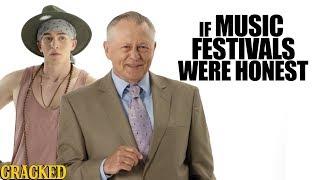 Download If Music Festivals Were Honest - Honest Ads (Bonnaroo, Coachella, Lollapalooza Parody) Video